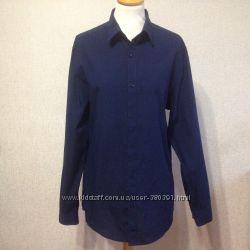 Рубашка муж. H&M, р. М170, хлопок, Бангладеш
