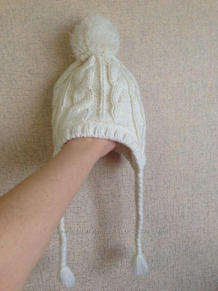 Шапочка деми-зима H&M, двойная, 6-24мес