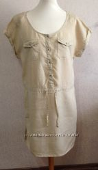 Платье жен. Yessica, р. M-L, 100 лен