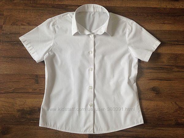 Блуза, рубашка George для девочки, р. 122-128, 7-8 лет