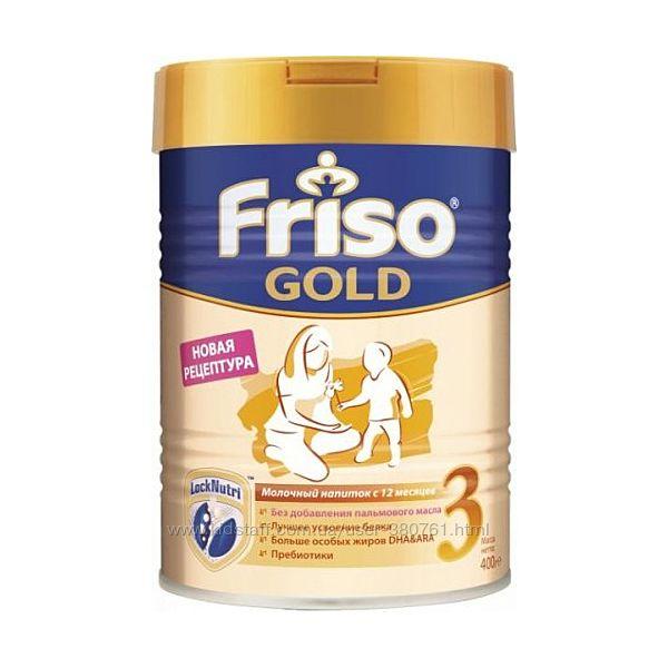 Friso Молочная смесь Фрисолак Gold 3, 400г