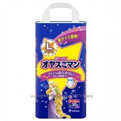 Moony Трусики ночные для девочек, мальчиков L 9-14 кг 30 шт.