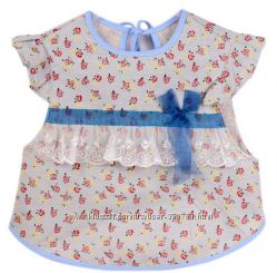 Для маленьких принцесс слюнявчик фартушек в виде платьица