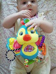 Детская погремушка подвеска, подвесная игрушка для коляски, автокресла
