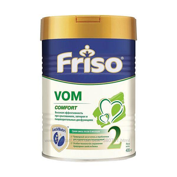 Friso Молочная смесь VOM Comfort 2 Фрисовом 400г  Фризо. Friso