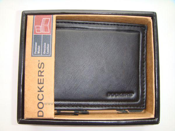 Портмоне мужские кожаные Dockers  из США