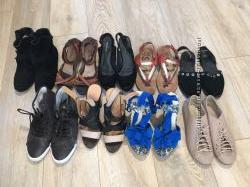 Кожаная обувь 36-37 размер 9 пар