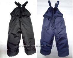 детские зимние штаны полукомбинезоны