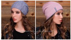 La visio шапки узорной вязки разных цветов. Отличные цена и качество