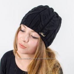 Классные теплые шапочки много цветов