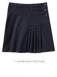 юбки школьные из Америки черные и темно синие размеры от 6 лет до 12лет