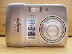 Фотоаппарат Nikon Coolpix L 6 цена снижена 500грн.