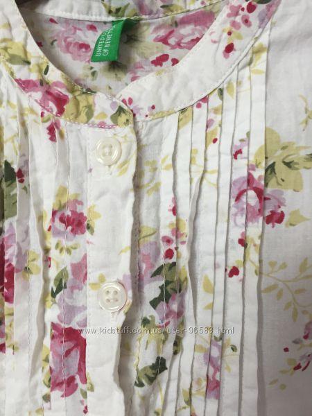 Нежнейшая очаровательная блуза BENETTON