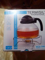 Чайник , жаропрочное стекло ТЕРМИСИЛ