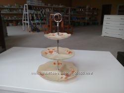 Фруктовница-конфетница 3-х ярусная