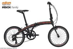 Складной велосипед ALTON Hilaris 20 алюминиевый Premium-класс