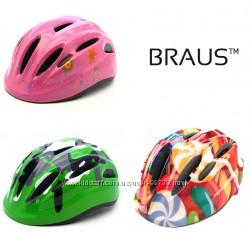 Шлем BRAUS GERMANY велосипедный, для роликов, скейтов
