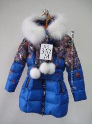 Кико 3312Б красиове зимнее пальто  146-164