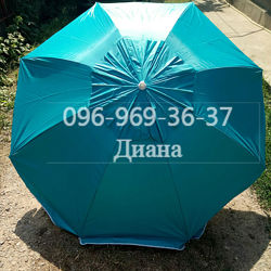 Пляжный зонт с укрепленным каркасом ромашка D2m