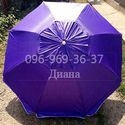 Крепкий пляжный зонт D2m