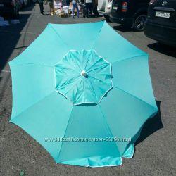 Самый крепкий пляжный зонт 2в1. Новинка.