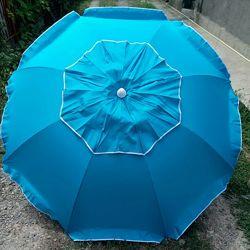 Мега-крепкий пляжный зонт