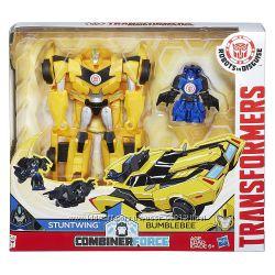 Трансформеры Хасбро роботы под прикрытием Бамблби и Стантвинг Transformers