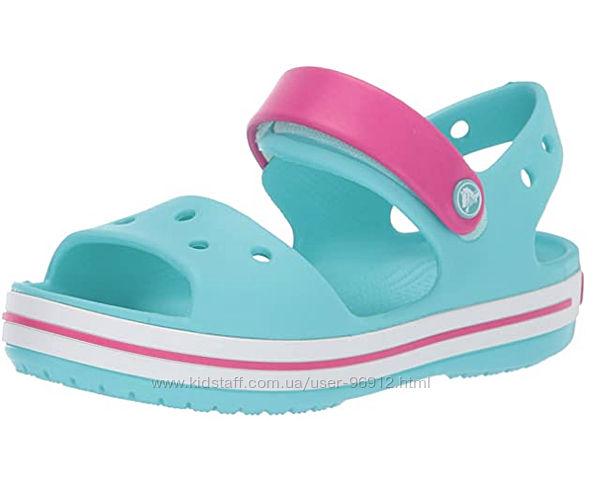 Босоножки Crocs Unisex Kids Crocband Sandal р.27-34
