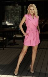 Платье-жакет, розовое Хит 2020