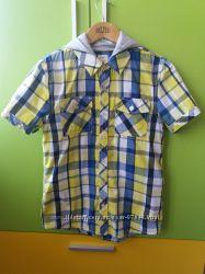 Стильная рубашка F&F для мальчика 10-11 лет