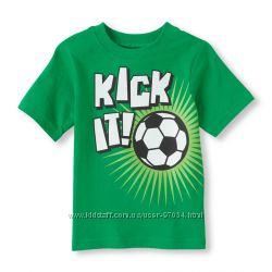 Яркие футболки  CHILDRENS PLACE для мальчиков, в наличие