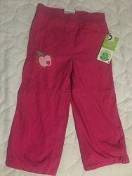 Демисезонные штаники для девочки от Тополино. Распродажа.