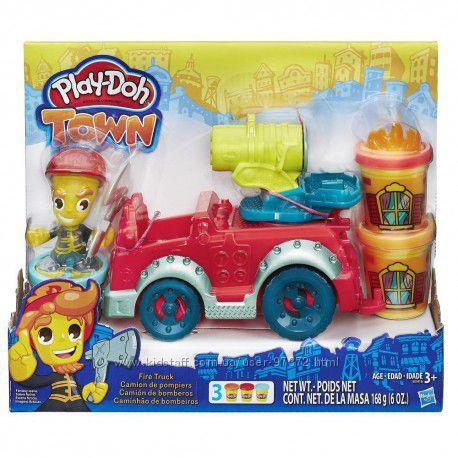 Набор пластилина Play-Doh Town Пожарная машина