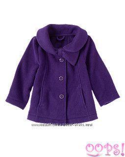 Gymboree яркое флисовое пальто 2 3 года