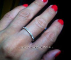 Очень нежное кольцо. Серебро.  Почти даром.