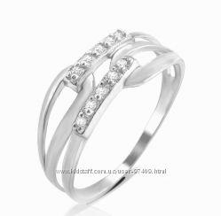 Оригинальное серебряное кольцо.