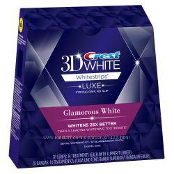 Crest 3D White Luxe Whitestrips Glamorous White - гламурная белизна зубов