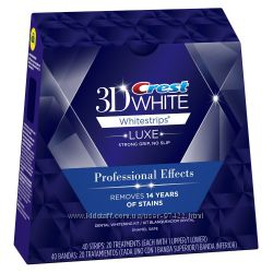 Crest 3D White Whitestrips Luxe Professional Effects - люксовое отбеливание