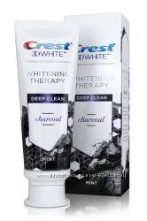 Отбеливающая угольная паста Crest 3D White Whitening Therapy Charcoal Deep