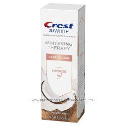 Отбеливающая Crest 3D White Toothpaste с кокосовым маслом