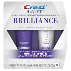 Двухуровневая система отбеливания Crest 3D White Brilliance