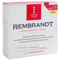 Rembrandt Intense Stain Dissolving Strips- белоснежная улыбка впечатляет
