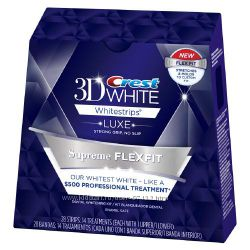 Crest 3D White Luxe Whitestrips Supreme FlexFit - новый уровень отбеливания