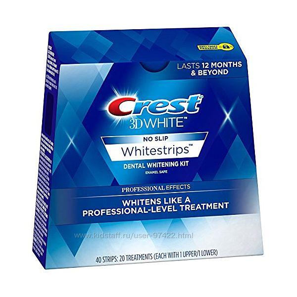 Crest 3D White Whitestrips Рrofessional Effects - люксовое отбеливание