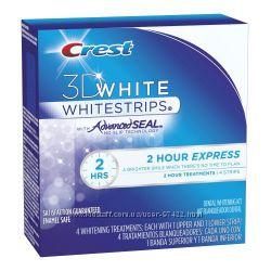 Crest 3D White 2-Hour Express- экспресс-отбеливание Ваших зубов