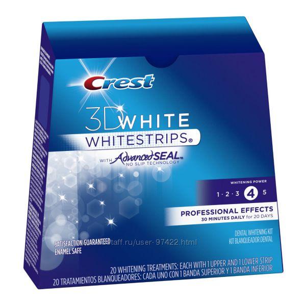 Crest Whitestrips Professional Effects - секрет американской улыбки