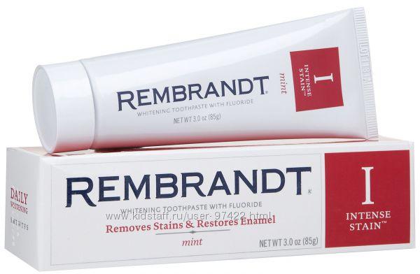 Зубные пасты Rembrandt - эксперт в области отбеливания зубов