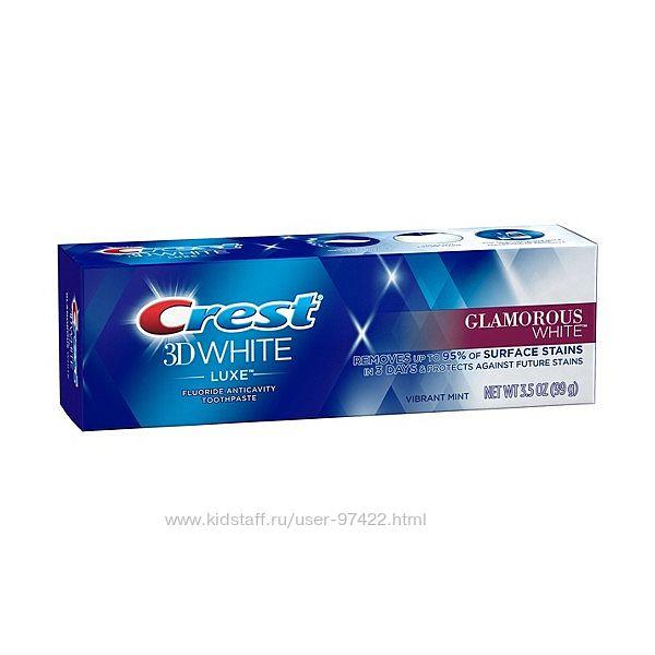 Crest 3D White Glamorous White Toothpaste- первая среди отбеливающих
