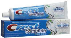 Супер-отбеливание с Crest Complete Multi-Benefit Extra Whitening