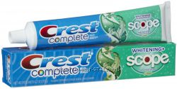 Многофункциональная Crest Complete Whitening Plus Scope Toothpaste - Minty